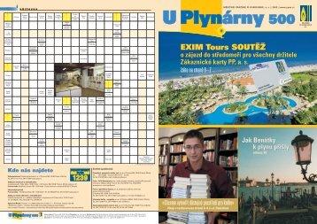 EXIM Tours SOUTĚŽ EXIM Tours SOUTĚŽ - Pražská plynárenská as
