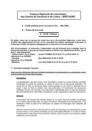 Eléments pour l'établissement d'une charte concernant l ... - Ubapar