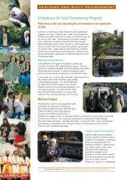 Cheetham Al Hilal Community Project - Black Environment Network
