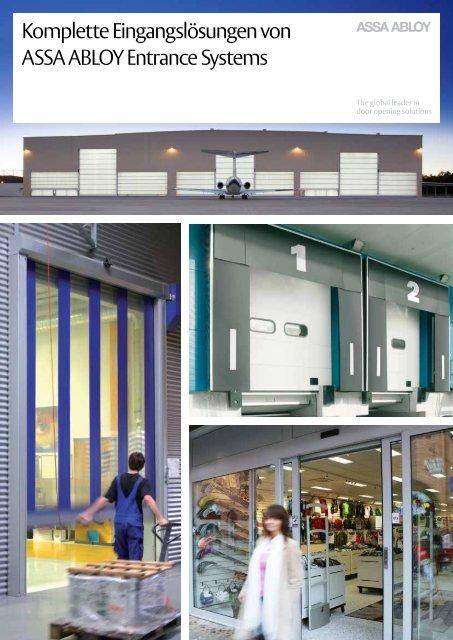 Komplette Eingangslösungen von ASSA ABLOY Entrance Systems