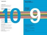 www.dno.nl Abonnementen Seizoen 2009 2010