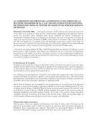 Portrait de maltraitance en établissement au Québec selon la CDPDJ