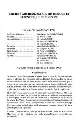 SOCIÉTÉ ARCHÉOLOGIQUE, HISTORIQUE ET SCIENTIFIQUE DE ...