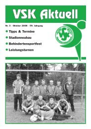 VSK Aktuell - VSK Osterholz