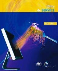 l'Offre de service 2006-2007 - Récit de l'enseignement privé - Feep