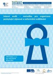 Interní audit – metodika pro organizace poskytující zájmové ... - NIDM
