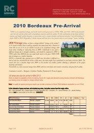 Bordeaux 2010 orderform-300611 - Rathdowne Cellars