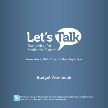 Let's Talk - Budget Workbook - Smithers