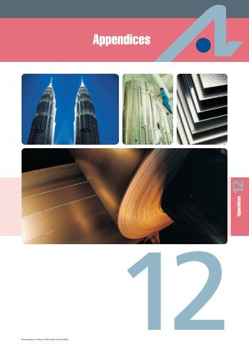 12. Appendices - Atlas Steels