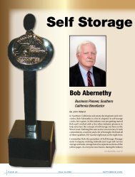 Hall of Fame - Self Storage Association Globe