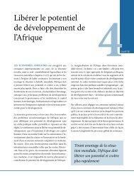Libérer le potentiel de développement de l'Afrique