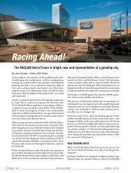 Racing Ahead! - Self Storage Association Globe