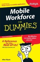 Mobility Workforce for Dummies - Pennine Telecom