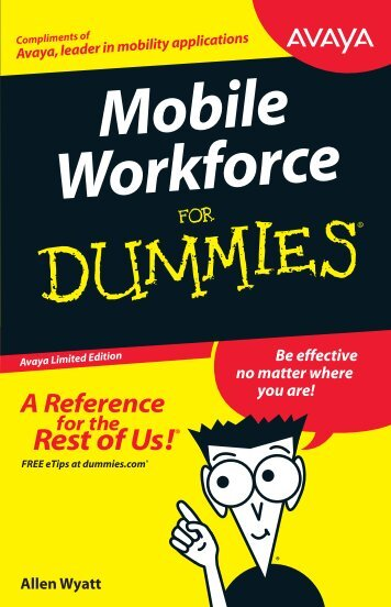 Mobility Workforce for Dummies - Pennine Telecom