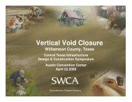 Vertical Void Closure - ACEA