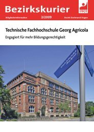Bezirkskurier - IG BCE - DORTMUND-HAGEN
