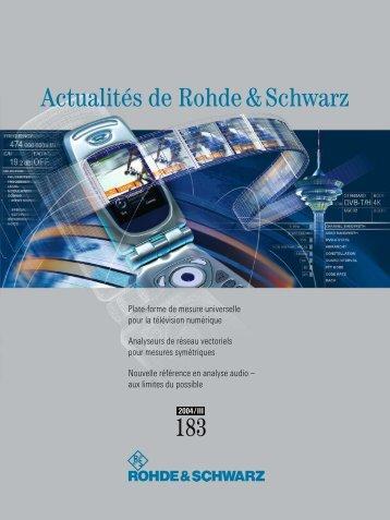 français - Rohde & Schwarz