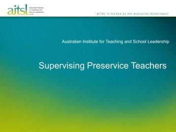 Orientation Presentation - Australian Institute for Teaching and ...