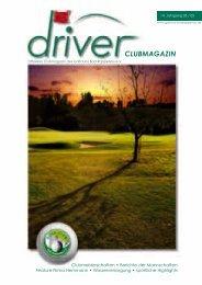 Offizielles Clubmagazin des Golfclubs Bad Rappenau eV