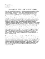 Annotated Bibliography - Alma College