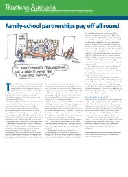 Family-school partnerships pay off all round - Australian Institute for ...