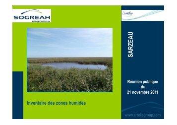 Usages des zones humides - Sarzeau
