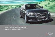 Ayez l'esprit sportif, relevez les défis de demain. - Audi