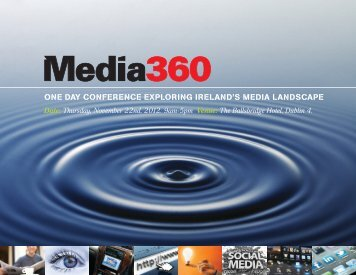 one day conference exploring ireland's media landscape - Dublin ...