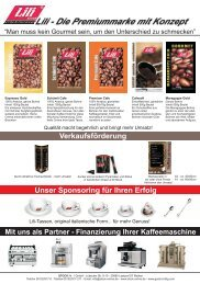 Lili - Kaffee  & Emotionen Flyer