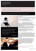 Technique de Confirmation Intuitive et Corporelle© - Ecole du jeu - Page 2