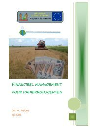 Financieel management manual - adron.sr