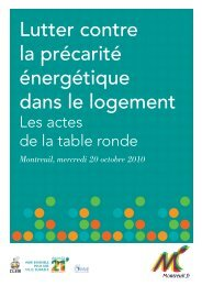 Lutter contre la précarité énergétique dans le ... - Ville de Montreuil
