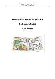 Ville de Vitrolles Projet Urbain du quartier des Pins ... - CRPV-PACA