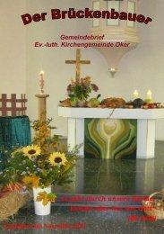 Gemeindebrief 2010-04 - Kirchengemeinde Oker