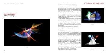 ART & NOUVELLES TECHNOLOGIES ART & NOUVELLES ...