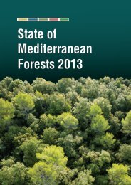 State of Mediterranean Forests 2013 - Plan Bleu