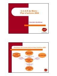 Plateforme Partenariale - CSEF Mons