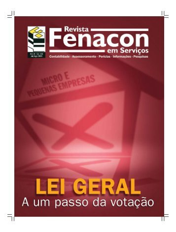 lei geral - Fenacon