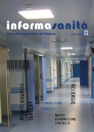 Informasanità - primavera 2010 - Azienda Ospedaliera di Padova