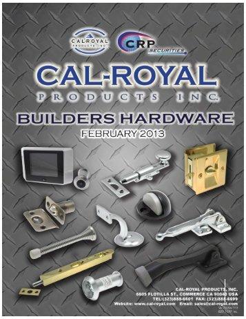 Print Catalog Page - Cal-Royal