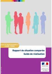 Rapport de situation comparée Guide de réalisation - Ministère du ...