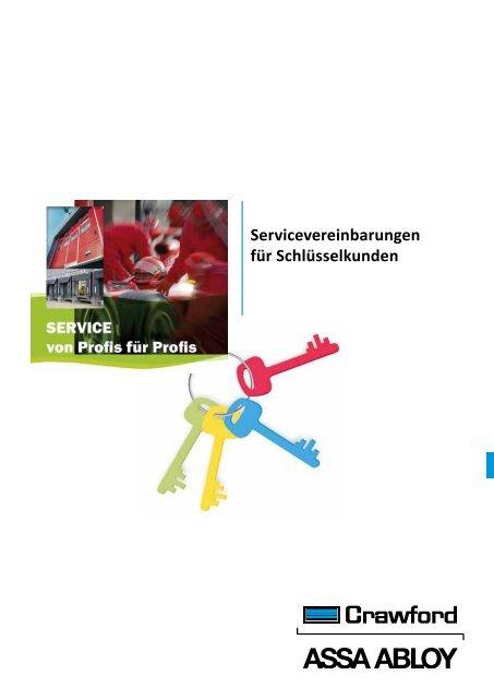 Servicevereinbarungen für Schlüsselkunden