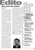 Octobre 2008 Bulletin municipal n°23 - Saint-Priest-sous-Aixe - Page 3