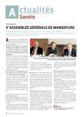 Le Monde des artisans en Savoie n°95 - Juillet / Août 2013 - Page 6