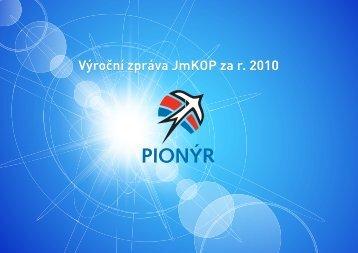 Výroční zpráva - Jihomoravská krajská organizace Pionýra
