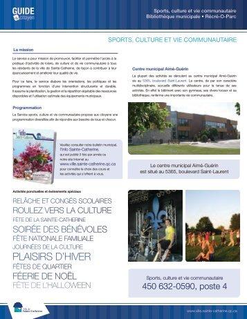 fiche_sport,_culture_et_vie - Ville de Sainte-Catherine