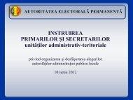 Instruire primari si secretari locale 2012 - Prefectura Ilfov