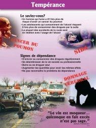 drogue - fumer - signes de dépendance - Woluwe.adventiste.org