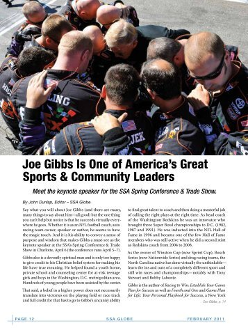 Joe Gibbs - Self Storage Association Globe