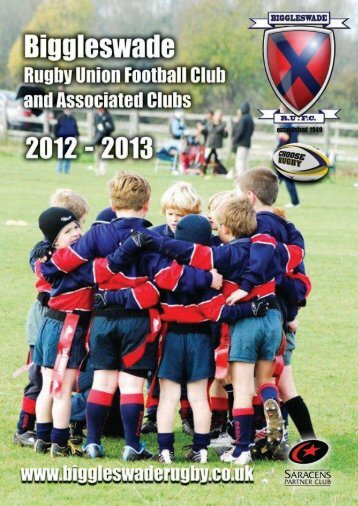 Click to download 2012/13 club handbook - Biggleswade Rugby Club